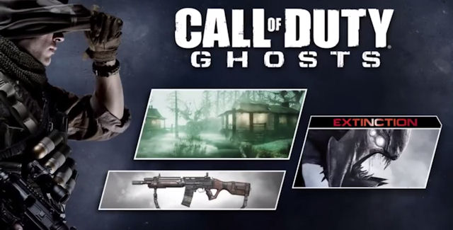Call of Duty Ghosts: Onslaught DLC