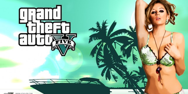 Grand Theft Auto 5 Keeley Hazell Wallpaper