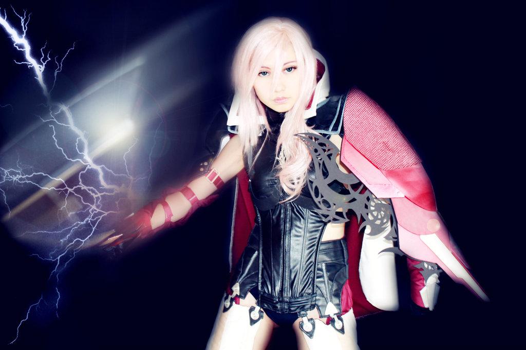 Lightning Returns Savior Outfit Cosplay