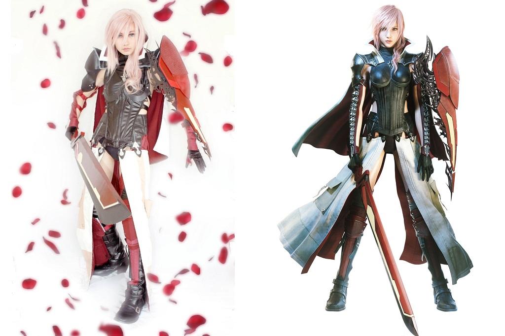 Lightning Returns Savior Outfit Costume