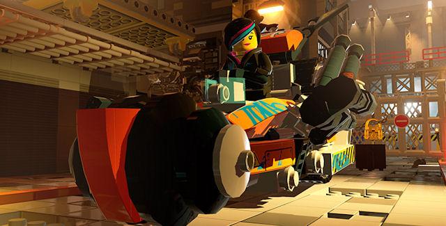 The Lego Movie Videogame Unlockable Vehicles