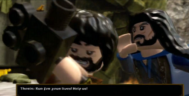 Lego The Hobbit Easter Eggs