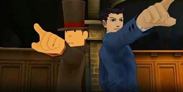 Professor Layton vs Phoenix Wright: Ace Attorney Cheats
