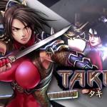 Soul Calibur: Lost Swords Taki Artwork