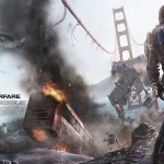 Call of Duty: Advanced Warfare Bridge Battle Wallpaper