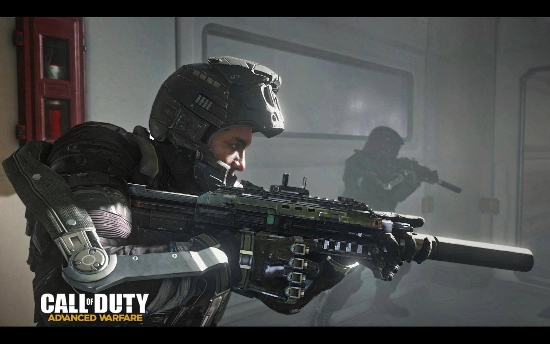 Call Of Duty Advanced Warfare Gun Wallpaper