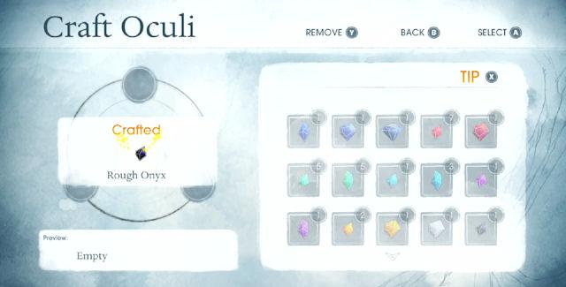 Child of Light Oculi Crafting Guide