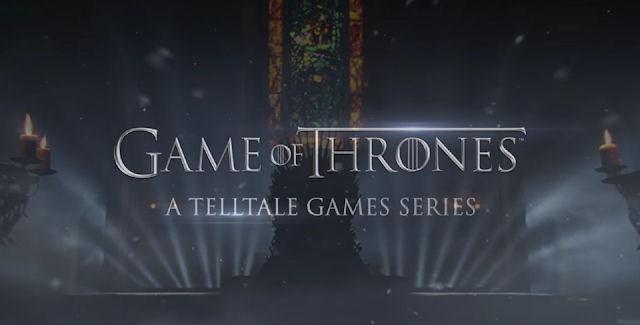 Game of Thrones: A Telltale Games Series logo screen