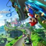 Mario Kart 8 Anti-Gravity Racing Wallpaper