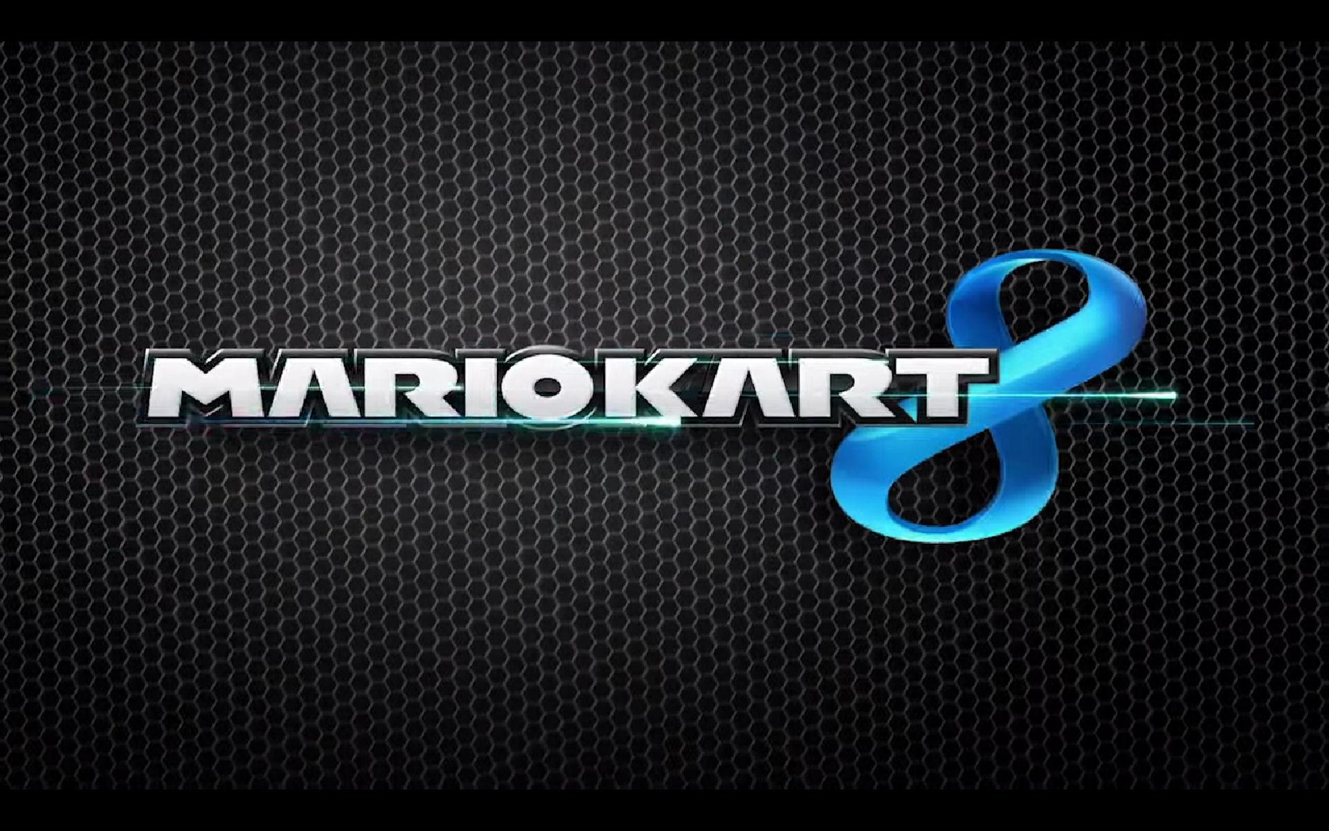 Mario Kart 8 Logo Wallpaper