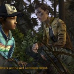 The Walking Dead Game: Season 2 Episode 4 Clementine In The Forest screenshot