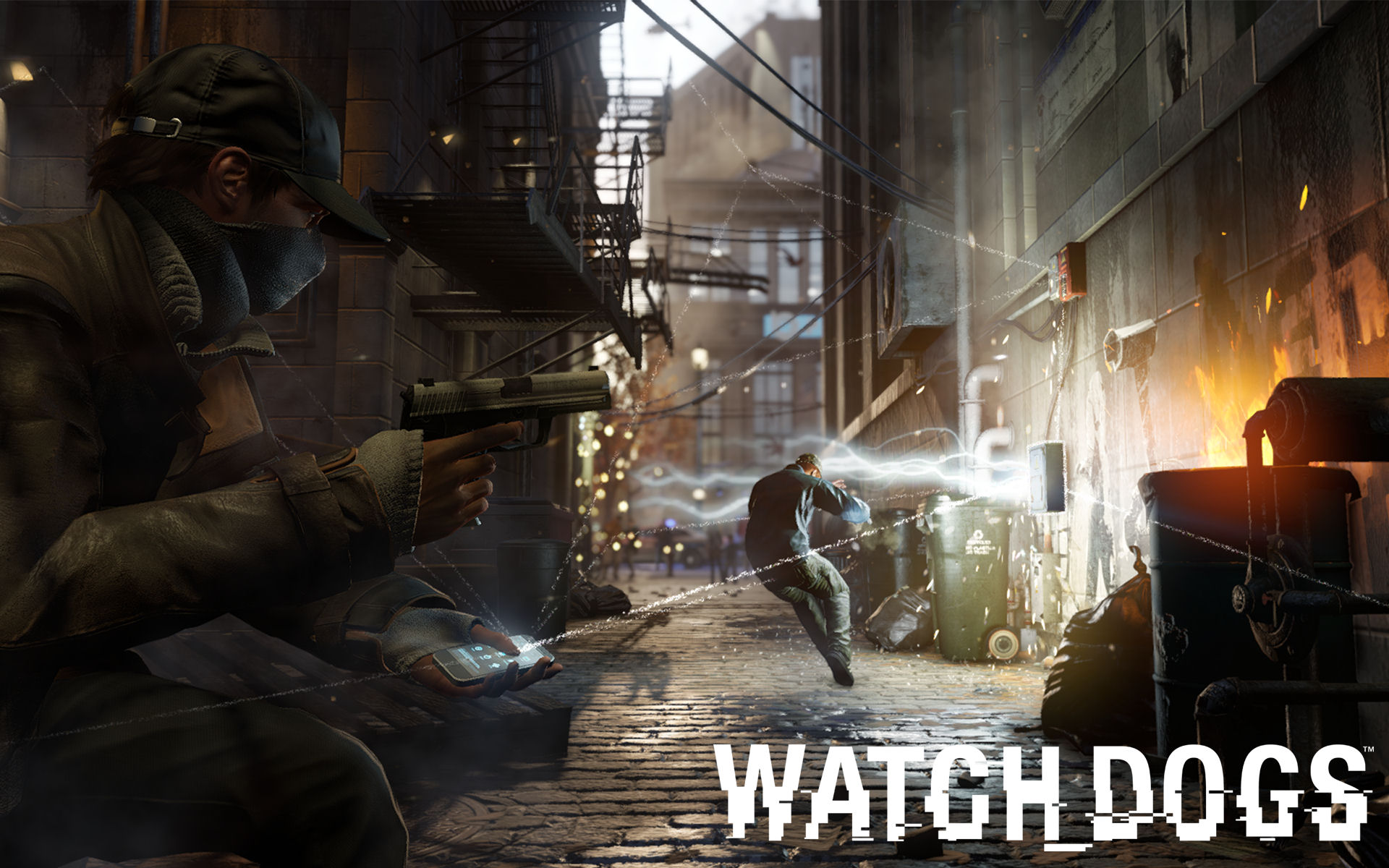 Watch Dogs Gameplay Wallpaper