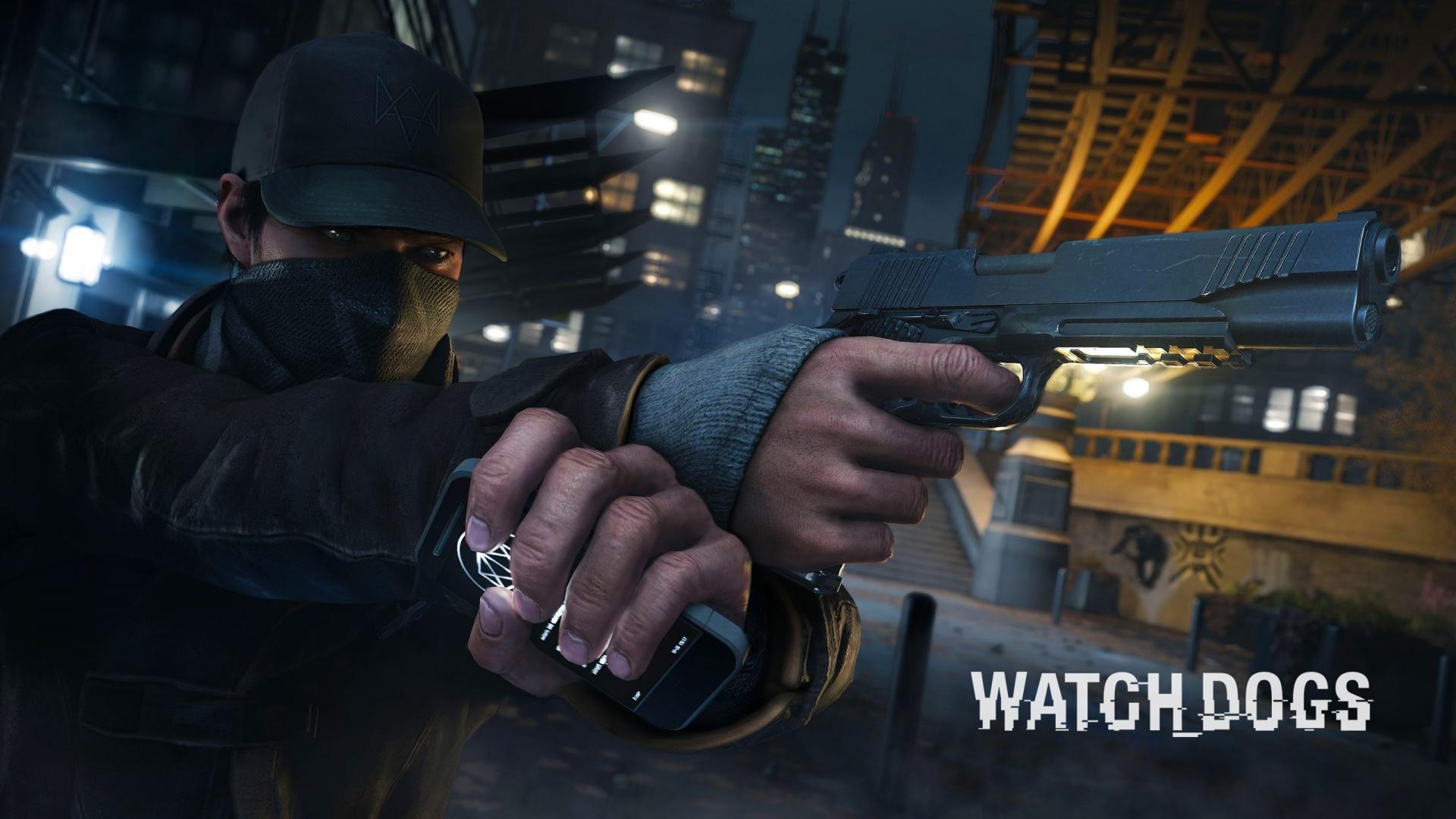 Watch Dogs Gun Wallpaper