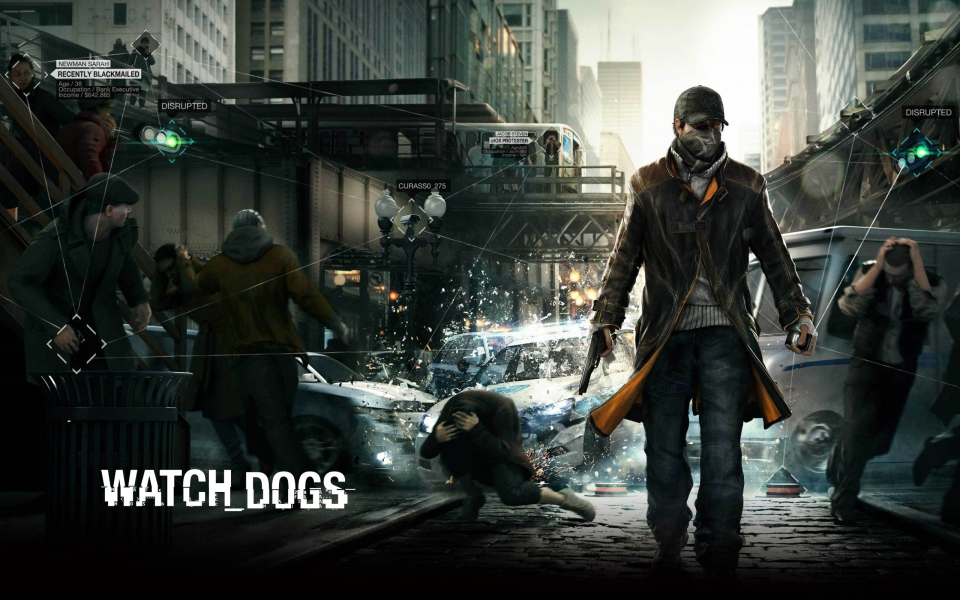 Watch Dogs Hacking Wallpaper