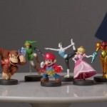Amiibo Real Life Toys On Table Wii U Nintendo