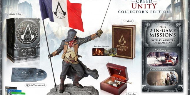 Assassin's Creed Unity Collector's Edition USA Arno Gargoyle Figure