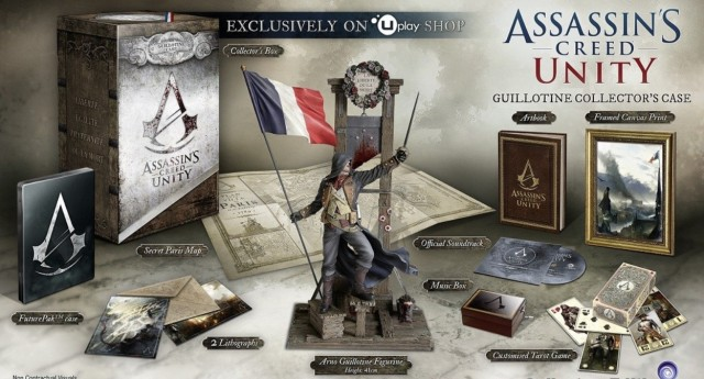 Assassin's Creed Unity Collector's Edition USA Guillotine Edition