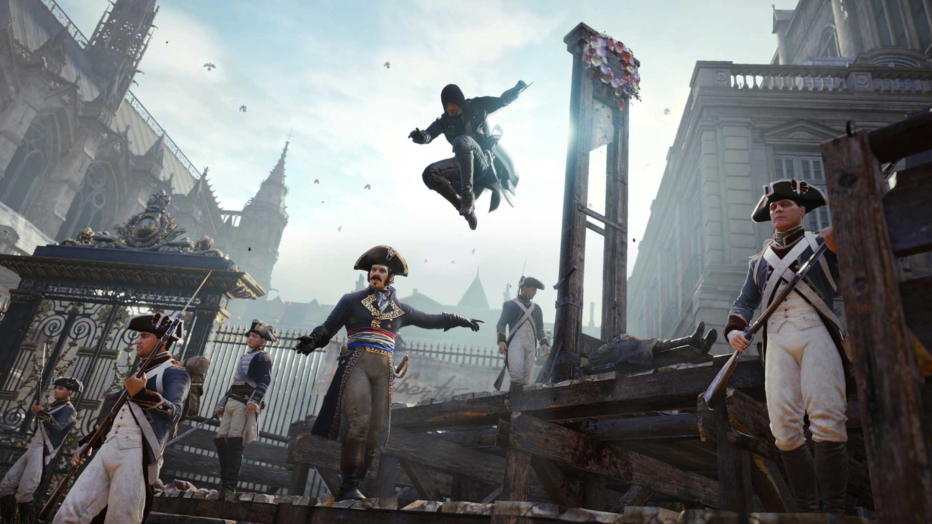 Assassin S Creed Unity Announced Xbox One Ps4 Pc E3 2014