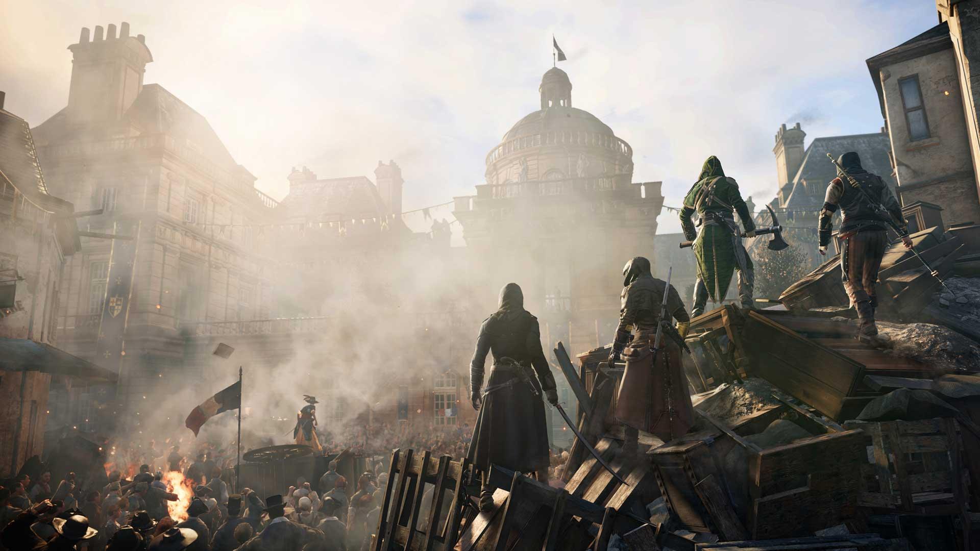 Assassin S Creed Unity Four Assassin S Artwork