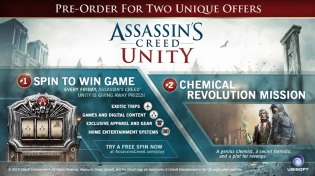Assassin's Creed Unity GameStop Edition Details Artwork