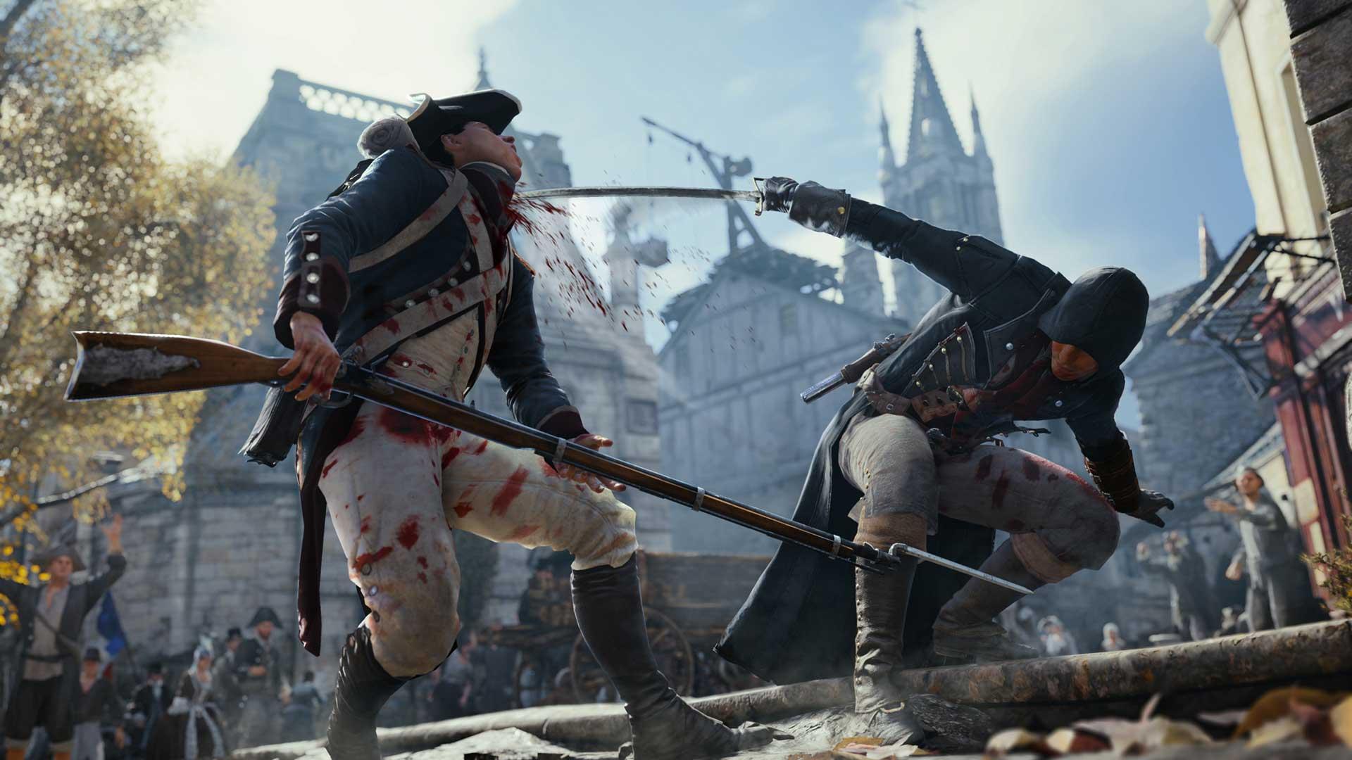 screenshots assassins creed unity gameplay