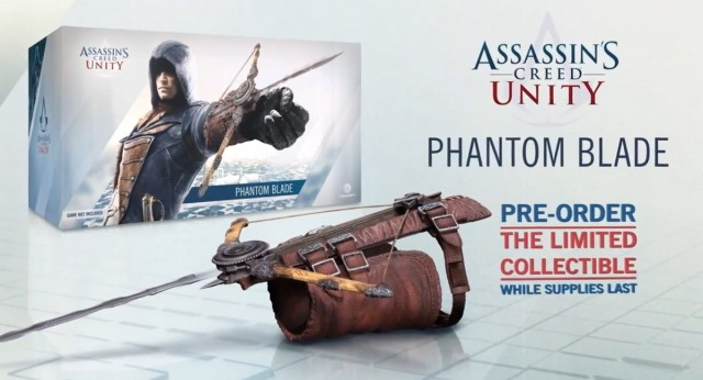 Assassin's Creed Unity Phantom Blade Collectable Details