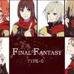 Final Fantasy Type-0 Girls & Boys PSP Artwork
