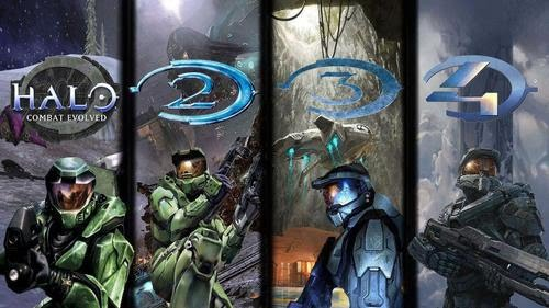 Halo Master Chief Collection 1 2 3 4 Artwork
