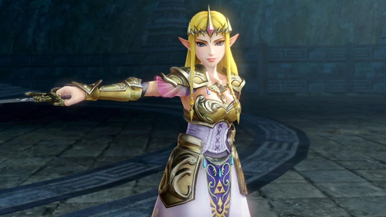 Hyrule Warriors Princess Zelda Profile Wii U