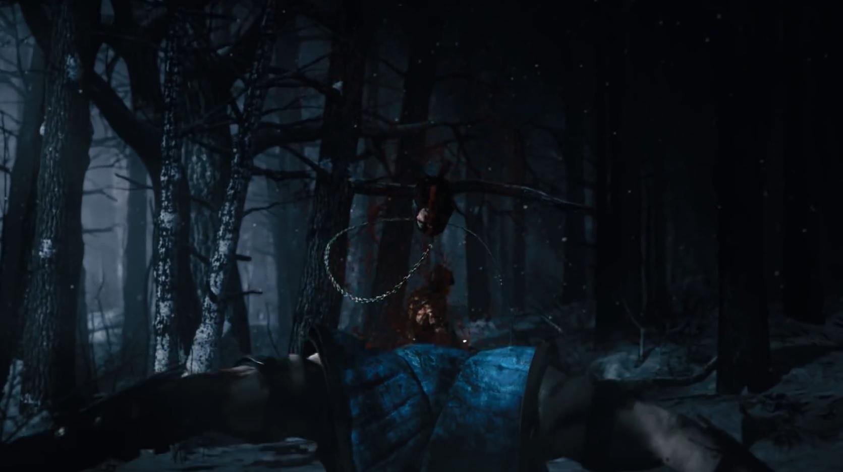 Mortal Kombat X Fatality Scorpion Spear Beheading Trailer Screenshot