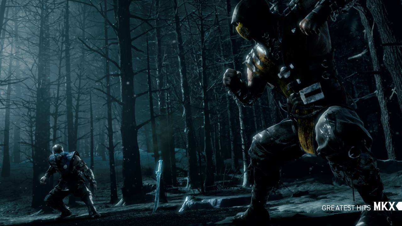 Mortal Kombat X Scorpion Vs Subzero Screenshot Cinematic