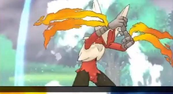 Pokemon Alpha Sapphire Omega Ruby Mega Blaziken Gameplay Screenshot 3DS Battle
