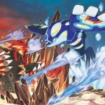 Pokemon Omega Ruby Alpha Sapphire Mega Kyogre Mega Groudon Artwork Wallpaper Official 3DS