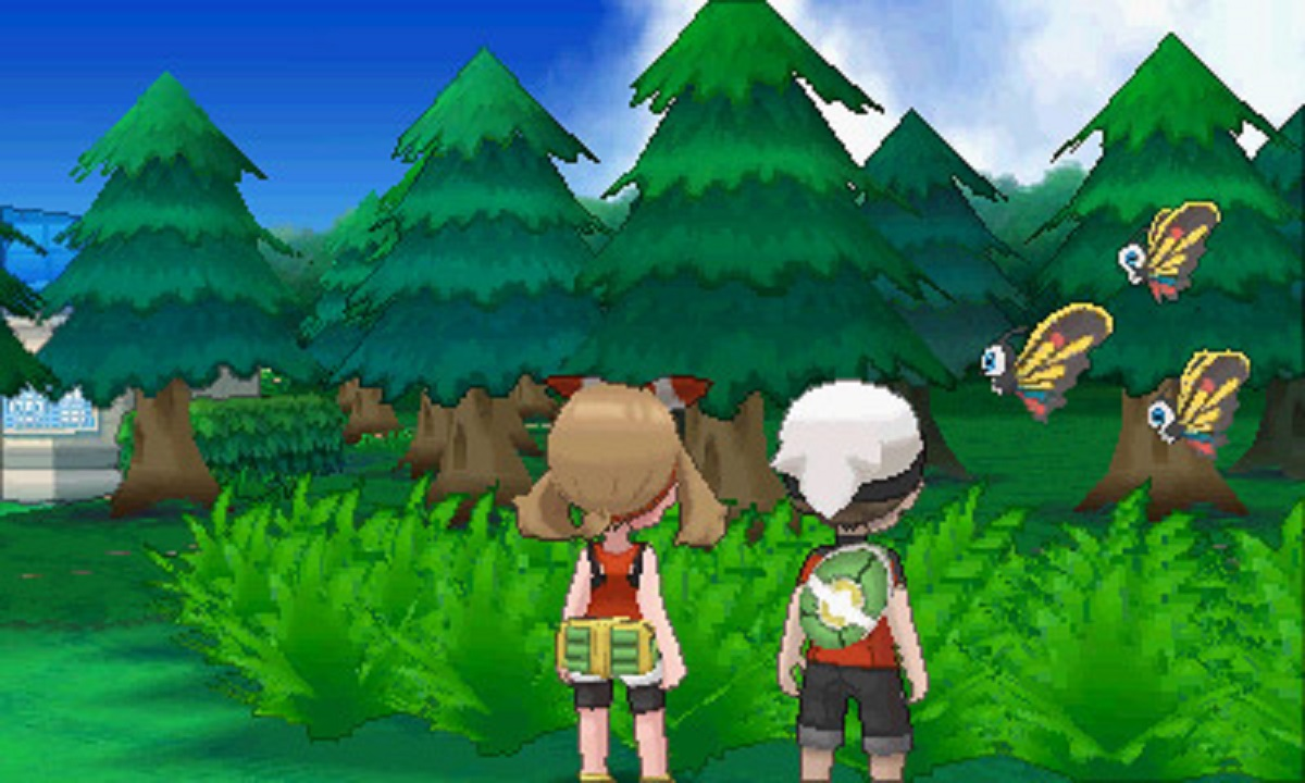 Pokemon Omega Ruby Alpha Sapphire Gameplay Boy and Girl Players Screenshot 3DS