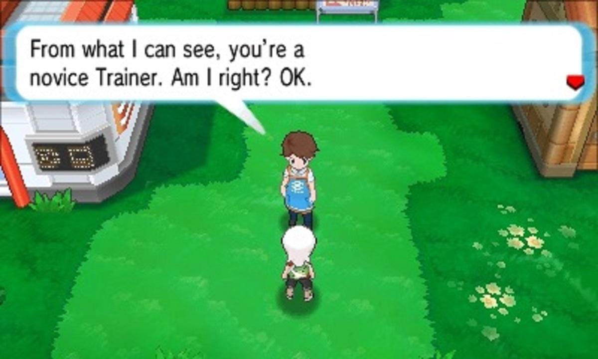 Alpha Sapphire Omega Ruby Town Gameplay Screenshot 3DS