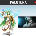 Super Smash Bros. 4 Palutena Banner Artwork Newcomer Official 3DS Wii U E3 2014