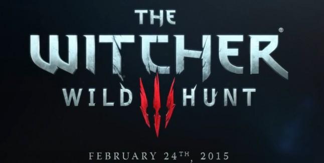 Witcher 3 Release Date Artwork Logo