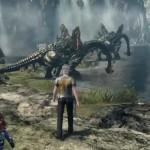 Xenoblade Chronicles X Dragons Gameplay Screenshot Wii U