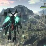 Xenoblade Chronicles X Flying Mech Gameplay Screenshot Wii U
