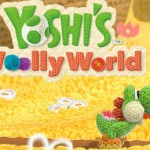Yoshi's Woolly World Beanbag Yoshi Close Up Artwork Official (Wii U)