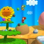 Yoshi's Woolly World Gameplay Screenshot Sunflower (Wii U)