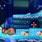 Yoshi's Woolly World Gameplay Screenshot Yarn Boulder (Wii U)