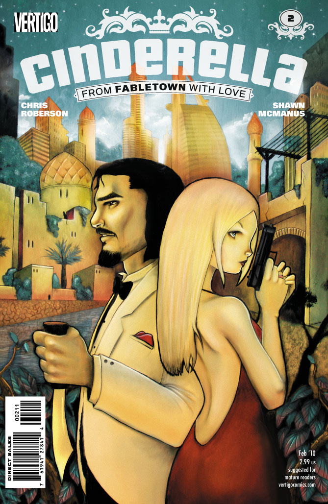 Aladdin & Cinderella on From Fabletown with Love cover 2