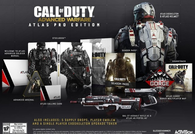 Call of Duty: Advanced Warfare Atlas Pro Edition