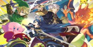Captain Falcon, Lucina & Robin in Super Smash Bros Wii U & 3DS