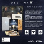 Destiny Limited Edition Boxset Contents Extras