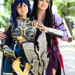 Cosplay Girls Chrom Say'Ri Fire Emblem: Awakening Hugging
