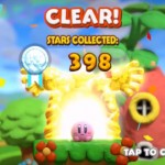 Kirby And the Rainbow Curse Medal Ranking Stars Collected Results Gameplay Screenshot Wii U