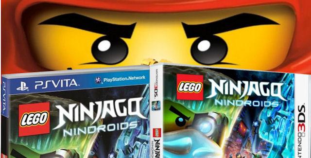 Lego Ninjago Nindroids Walkthrough
