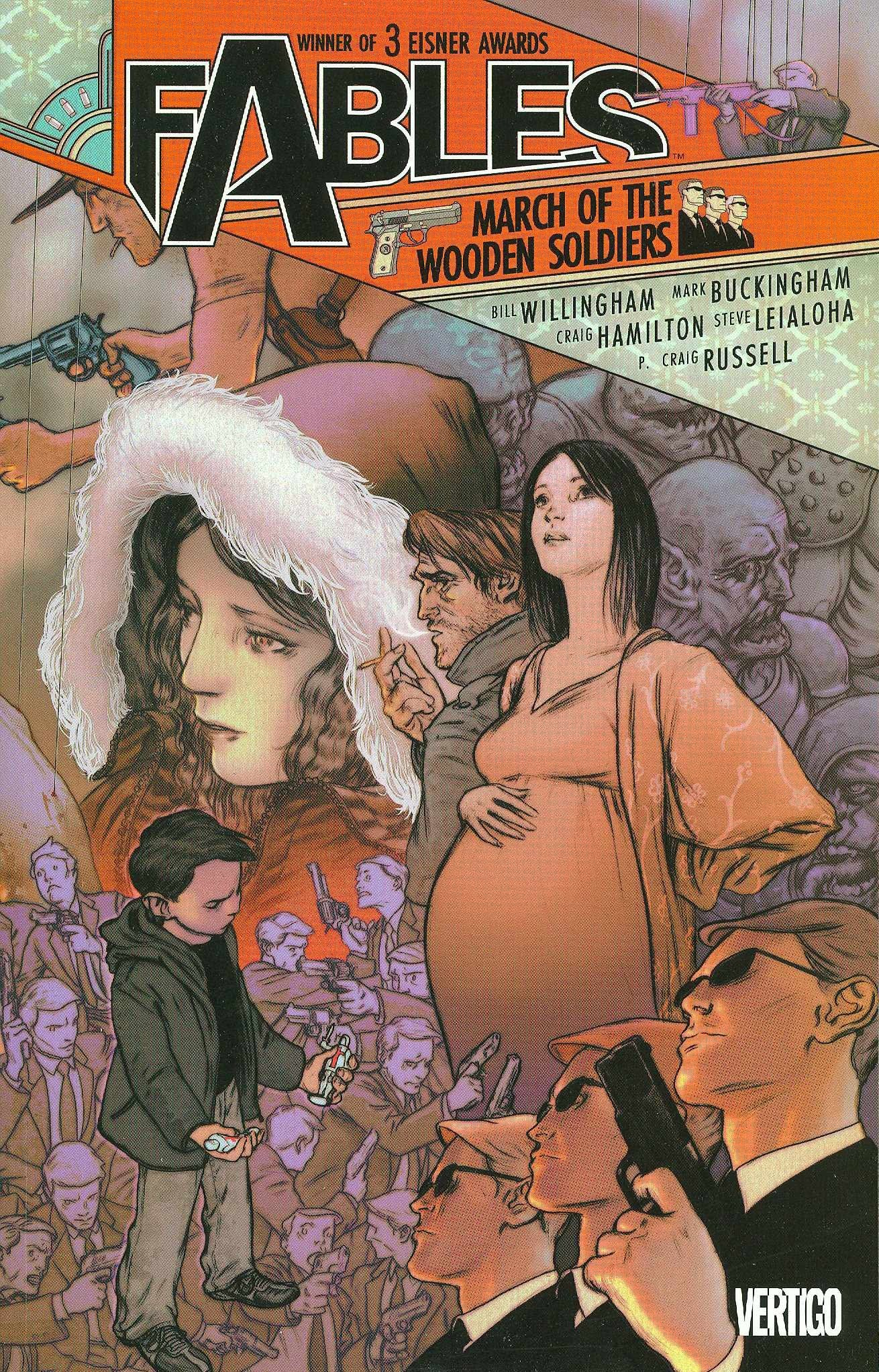 Little Red Ridinghood on Fables: The Deluxe Edition cover 3